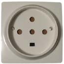 Розетка 3-х фазная для электроплиты - 32А, 3P+E+N