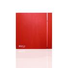 (Soler & Palau) Вентилятор накладной SILENT-100 CRZ RED DESIGN-4C (230V 50) с таймером