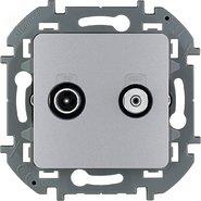 Розетка TV/SAT - алюминий INSPIRIA 673882