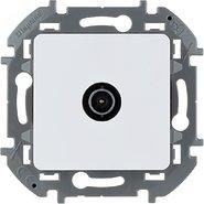 Розетка ТВ оконечная, 10 дБ, 5-862 мГц - белый INSPIRIA 673870