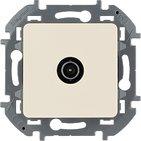 Розетка ТВ проходная, 14 дБ, 5-862 мГц - слоновая кость INSPIRIA 673861