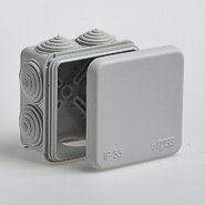 Коробка распределительная 70х70х40 IP55 серая TYCO 67030