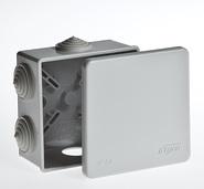 Коробка распределительная 85х85x40мм IP54 серая TYCO 67040