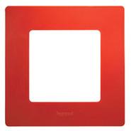 Рамка 1 пост красная Legrand Etika 672531