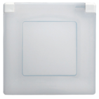 Рамка 1 пост IP44 белая Legrand Etika 672550