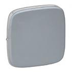 Лицевая панель для выключателей одноклавишных, светлая сталь, Legrand Valena Allure (755013)