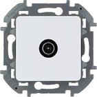 Розетка ТВ проходная, 14 дБ, 5-862 мГц - белый INSPIRIA 673860