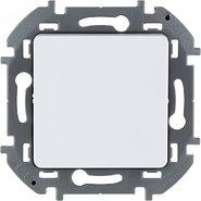 Переключатель проходной 1 кл, 10 AX, 250 В - белый INSPIRIA 673650