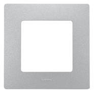 Рамка 1 пост алюминий Legrand Etika 672551