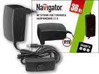 Трансформатор (драйвер) светодиодный LED 36w 12v Navigator (71464 ND-E)