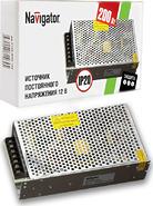 Трансформатор (драйвер) светодиодный LED 200w 12v Navigator (71468 ND-P-IP20)