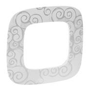 Рамка 1 пост, нарцисс хром, Legrand Valena Allure (754341)