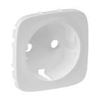 Лицевая панель розетки 2К+З, жемчуг, Legrand Valena Allure (755209)
