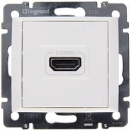 Розетка HDMI Legrand Valena Белая 770085