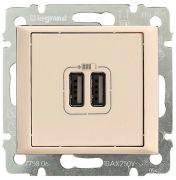 Розетка USB двойная Legrand Valena Слоновая кость 774170