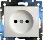 Розетка Legrand Valena Белая без заземления 774416