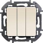 Выключатель 3 кл, 10 AX, 250 В - слоновая кость INSPIRIA 673641
