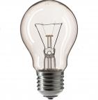 60W E27 PHILIPS Лампа накаливания ЛОН 60вт A55 230в E27 (35456384)