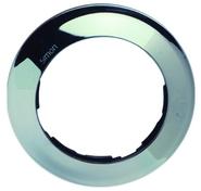 Simon 88 Одноместная круглая рамка (хром)