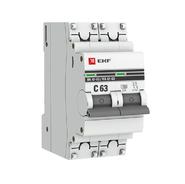 Автоматический выключатель 2P C63 EKF PROxima ВА 47-63