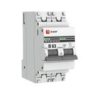 Автоматический выключатель 2P B63 EKF PROxima ВА 47-63