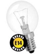 60W E14 Шар прозрачный декоративный (лампа накаливания) ДШ 60вт Р45 230в Е14 (шар) (94316 NI-C)