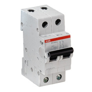ABB Автоматический выключатель 2P C6A (SH202L)