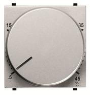 Терморегулятор теплого пола с датчиком - серебро, ABB Zenit (N2240.3 PL)