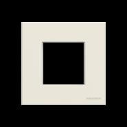 Рамка 1 пост - альпийский белый, Zenit ABB (N2271 BL)