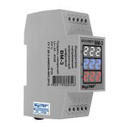 Вольтметр цифровой трёхцветный 40-400V AC трёхфазный (2 мод.) DigiTop
