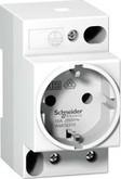 Schneider Electric Розетка с заземлением на DIN-pейку 16А