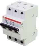 ABB Автоматический выключатель 3P C63A (S203)