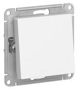 Выключатель проходной, 1 кл, влагозащищенный, IP 44 - белый, Schneider AtlasDesign Aqua