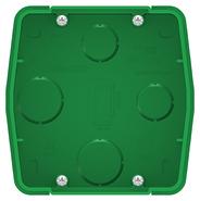 Коробка монтажная д/силовых розеток, скрытой установки зеленый BLANCA (BLNMK000001)