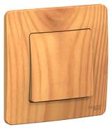 Выключатель одноклавишный (cх.1),10A,250B, скрытой установки ясень BLANCA (BLNVS010105)