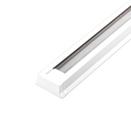 Шинопровод для трековых светильников, белый, 1м, ( в наборе 2 заглушки, крепление) - FERON
