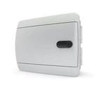 Tekfor бокс 8 модулей встраиваемый IP40 непрозрачная белая дверца нажимной, 218х170х103