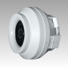 (ЭРА) Вентилятор центробежный канальный CYCLONE-EBM 125, пластиковый
