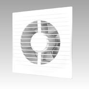E 100 S C, Вентилятор осевой с обратным клапаном и антимоскитной сеткой, D 100 - Эра