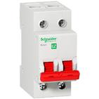 Выключатель нагрузки 2P 80A (рубильник) Schneider Electric Easy9 (EZ9S16280)