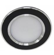 Светильник 3,5W 220V светодиодный встраиваемый с лампой черный 100мм Feron  (DL4747 black)