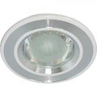 Светильник 3,5W 220V светодиодный встраиваемый с лампой белый 100мм Feron  (DL4747 white)