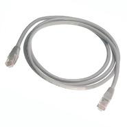 Патч-корд UTP Cat.6, 0.5 м серый Hyperline