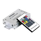 Контроллер кнопочный (радио) для светодиодных многоцветных (RGB) лент LEDS POWER (T667-R20)