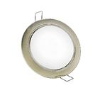 Светильник никель матовый, под лампу GX53, встраиваемый, PGX53 10639.27 JazzWay (1016829)