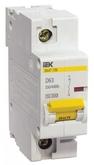 Выключатель автоматический однополюсный 16А С ВА 47-100 10кА IEK (MVA40-1-016-C)