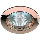 Светильник медь, литой, неповоротный MR16, 50W, ЭРА KL1 SC