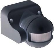 Датчик движения ИК настенный 1100w 180 гр. 12м., IEK IP44 черный (ДД 009 чер.)