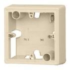 Valena Коробка накладная для настенного монтажа 1пост - слоновая кость