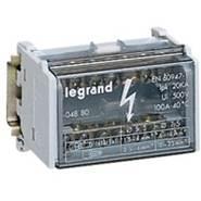 Legrand Шина на DIN-рейку в корпусе (кросс-модуль) 1Px12 контактов 160А (004883)